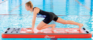 Floating fitness, yoga of pilates met het BEboard